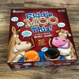 Learning Resources Riddle Moo This Riddle Game